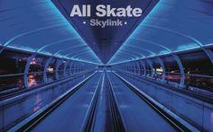 "All Skate - ""Skylink"" album art."
