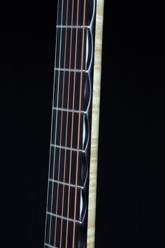 David Antony Reid VaultBack steel strung acoustic guitar. African blackwood fretboard with my very own double-edged scalloped fretboard. Incredible ergonomics for incredible playing comfort.