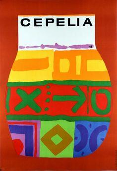 Cepelia (Art And Handicraft Foundation) Cepelia (dzban) Mlodozeniec Jan Polish Poster 1965