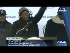 Nina Turner Is FIRED UP At Civil Rights Rally In Washington DC