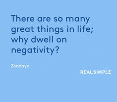 REAL SIMPLE | DAILY THOUGHT