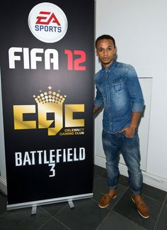 Aston Merrygold was among those in attendance at Celebrity Gaming Club's FIFA 12 Launch Party. Aston Merrygold, Launch Party, Attendance, Fifa, Gaming, Product Launch, Celebrity, Club, Sports