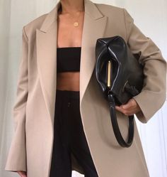 50 Cute Oversized Blazer To Wear For Women Style Outfits, Mode Outfits, Casual Outfits, Fashion Outfits, Fashion Skirts, Blazer Outfits, Blazer Dress, Women's Casual, White Outfits
