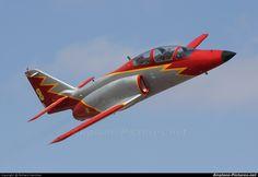 patrulla águila   Spain - Air Force : Patrulla Aguila E.25-27 aircraft at Murcia - San ...