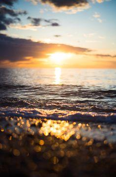 Puestas de sol en la playa