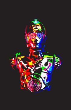 the archetypical android robot - putting all translators of the galaxy out of business;)