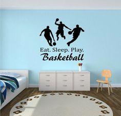 Eat. Sleep. Play. Basketball Wall Decal - basketball wall decor 6cd0a3ee93689