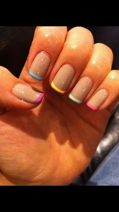 Nice way to add a bit of colour while still keeping the overall look subtle