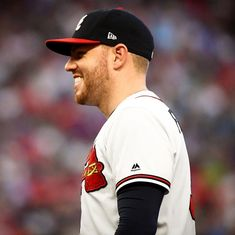 Let us all give thanks for Freddie Freeman 🙌 The post Atlanta Braves: Let us all give thanks for Freddie Freeman … appeared first on Raw Chili. Kansas City Royals, Chicago White Sox, Boston Red Sox, Braves Baseball, Buster Posey, Yadier Molina, Tampa Bay Rays, Derek Jeter