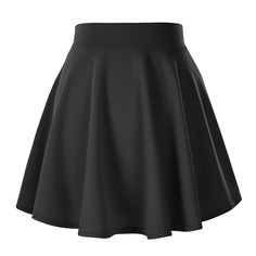 Urban CoCo Women's Basic Versatile Stretchy Flared Casual Mini Skater Skirt at Amazon Women's Clothing store:  $10