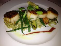 Sea Scallops from Sperry's in Saratoga Springs, NY