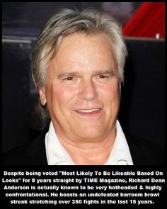 Richard Dean Anderson, How To Be Likeable, Facts, Gallery, Roof Rack
