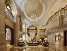 Luxurious Hotel Lobby | comments 1 expensive hotel lobby 3d model very expensive hotel lobby ...