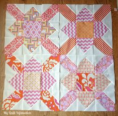 My Quilt Infatuation: Purse Strings Block (free block tutorial)