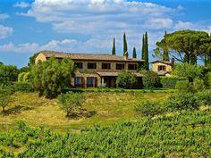 Affitto villa Siena - Villa Colombaio with its porch