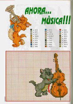 Grande raccolta schemi cartoni animati Aristogatti