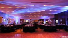 Epic Hall - amazing decor and lighting for this event! For more booking info: http://salonrentals.torontopubliclibrary.ca/