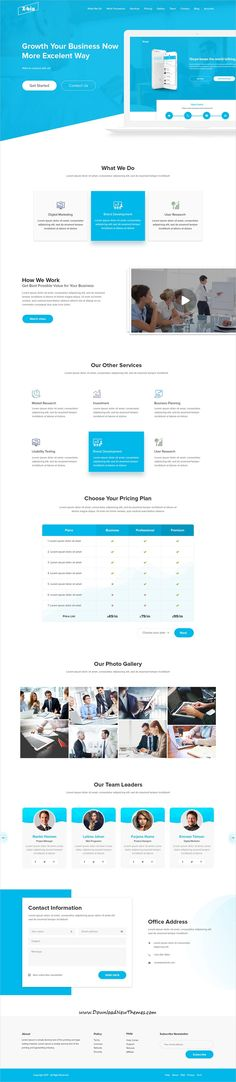 X-bix is clean and modern design multipurpose PSD #template for business agency #website with 10 layered PSD pages to live preview & download click on Visit  #psdmockups