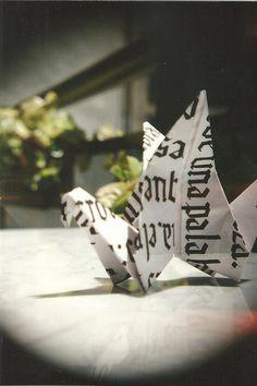 #analog #origami