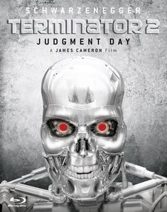 Directed by James Cameron.  With Arnold Schwarzenegger, Linda Hamilton, Edward Furlong, Robert Patrick. A cyborg, identical to the one who failed to kill Sarah Connor, must now protect her ten-year-old son, John, from a more advanced cyborg, made out of liquid metal.