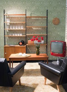 60's inspired interior design from Habitare 2012.
