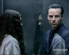 Imagine being Sian (Eurus)!! I would be fangirling in Andrew Scott's presence XD
