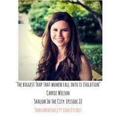 Episode 22,  Carrie Wilson