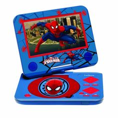 Ultimate Spiderman Portable DVD player (Swivel Screen, SD and USD slots) Spiderman http://www.amazon.com/dp/B0093XAKJG/ref=cm_sw_r_pi_dp_Gy32vb0CP3JZF