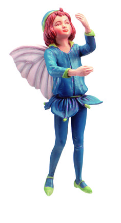 Retired Cicely Mary Barker Speedwell Garden Flower Fairy Ornament Figurine | eBay