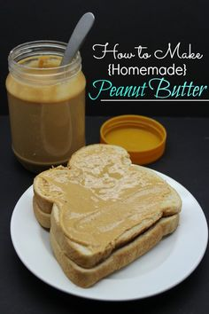 Be sure to check out this Homemade Peanut Butter Recipe! If you are looking for another way to save, this Homemade Peanut Butter is a great option! Homemade Peanut Butter, Peanut Butter Recipes, Homemade Food, Yogurt, Diy Food, I Love Food, Queso, Food Processor Recipes, The Best