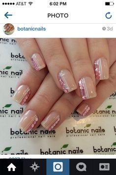 Nail design Botanic Nails, Gem Nails, Professional Nails, Nail Care, Nail Ideas, Sunshine, Nail Designs, Design Ideas, Nail Art