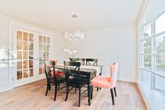 Beautiful Dinning Room Remodel from one of our recent flips! Visit our website for more home improvement tips!