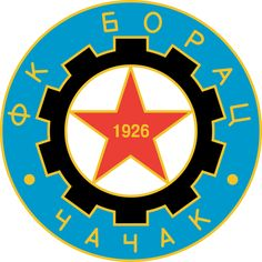 Borac Čačak.  Serbia, SuperLiga