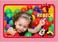 Aniversário de 1 ano de Rebeca, com tema Minnie Fotos, edição e montagem: Kátia Alessandra   F.: (11) 99384-0189