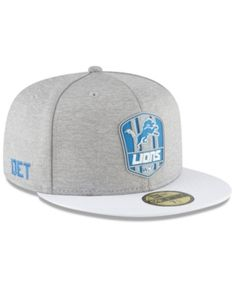 7c34ca58a1b Boys  Detroit Lions Official Sideline Road 59FIFTY Fitted Cap. Sports Fan  ShopNfl ...