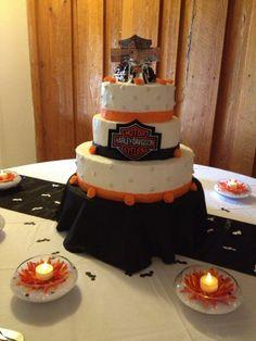 Harley Davidson Wedding Cakes   Harley Davidson Wedding Photos - Harley Davidson Forums