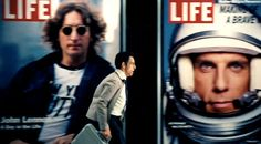 Ben Stiller stars as a daydreaming nobody who dreams of being a somebody in The Secret Life of Walter Mitty.