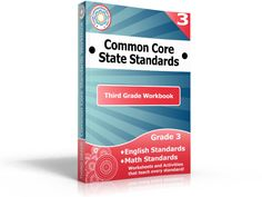 This Third Grade Common Core Workbook is the largest collection of resources for teaching the Common Core State Standards. This workbook includes over 840 pages of Worksheets, Activity Centers, and Posters
