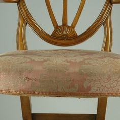 English Mahogany Hepplewhite Style Chair circa 1880