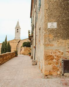 Winter in Tuscany | Pienza