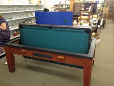 Awesome 3 In 1 Game Table (Pool, Air Hockey, Ping Pong)