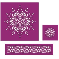 Die sire Create-a-Card Cut In - Ornate Snowflake Perfect for your Christmas crafting creations Wafter-thin metal dies are easy to store This pack