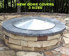 Custom Fire Pit Covers-spark Screens - Metal Fabrication, Stainless Steel Fire Pit insert.