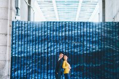 Engagement session in DUMBO Brooklyn. Captured by NYC wedding photographer.