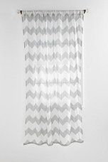 Urban Outfitters Zigzag Curtain, $34