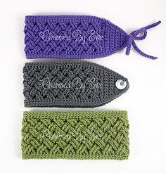 Aislinn_celtic_dream_head_wraps_small2 Crochet Wrap Pattern, Crochet Headband Pattern, Knitted Headband, Easy Crochet Patterns, Crochet Shawl, Crochet Motif, Crochet Headbands, Crochet Scarves, Knitted Hats