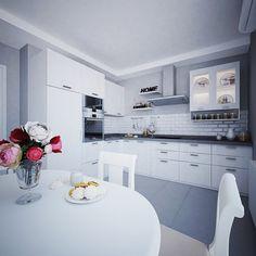 Скандинавский стиль. Кухня