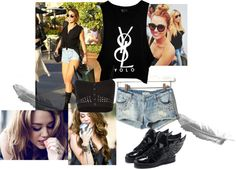 """Miley Cyrus"" by blogging-inbalenciaga on Polyvore"