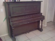 We were given an old upright piano and I used the John Thompson books for beginning students to learn to play a few songs, but never had lessons.  The piano was in very bad disrepair and was later made into end tables!