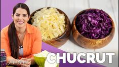 CHUCRUT   REPOLLO FERMENTADO - Jacquie Marquez Cabbage Rolls, Fermented Foods, Kitchen Recipes, Pickles, Health And Beauty, Serving Bowls, Vegan Recipes, Food And Drink, Vegetables